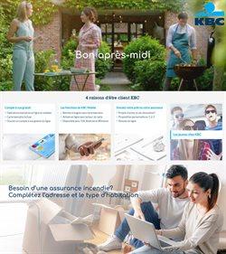 Promos de Banques et Assurances dans le prospectus de KBC Bank à Liège ( Plus d'un mois )