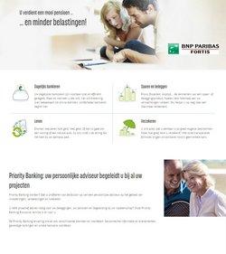 Promos de Banques et Assurances dans le prospectus de BNP Paribas Fortis à Bruxelles ( 18 jours de plus )