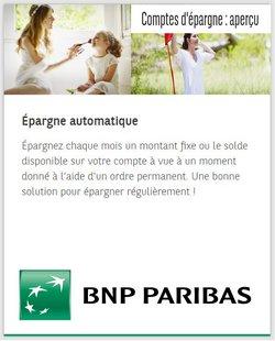 Promos de Banques et Assurances dans le dépliant à BNP Paribas Fortis ( 5 jours de plus)