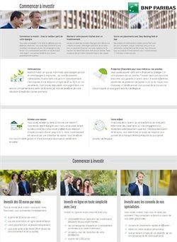 Promos de Banques et Assurances dans le prospectus de BNP Paribas Fortis à Gent ( Plus d'un mois )