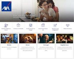 Promos de Banques et Assurances dans le prospectus de AXA Bank à Bruxelles ( 20 jours de plus )