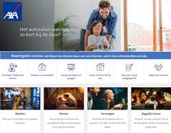 Promos de Banques et Assurances dans le prospectus de AXA Bank à Roulers ( Plus d'un mois )