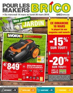 Promos de Bricolage et Jardinage dans le dépliant de Brico à Waregem