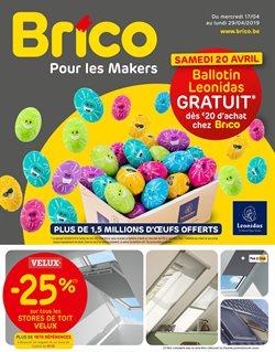 Promos de Bricolage et Jardinage dans le dépliant de Brico à Bruxelles