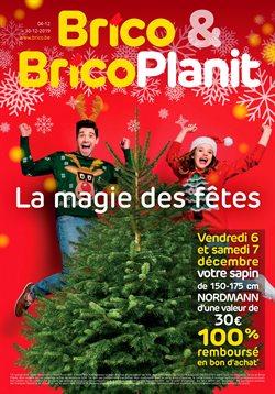 Promos de Bricolage et Jardin dans le dépliant de Brico à Louvain