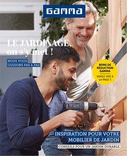 Promos de Bricolage et Jardin dans le prospectus de GAMMA à Bruxelles ( 27 jours de plus )
