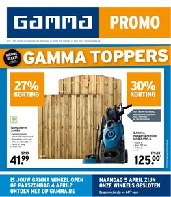 Promos de Bricolage et Jardin dans le prospectus de GAMMA à Alost ( Expire demain )