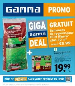 GAMMA coupon ( Publié hier)
