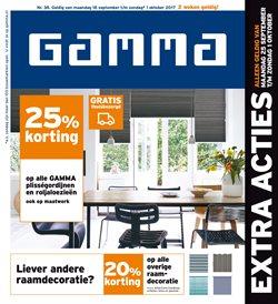Promos de GAMMA dans le dépliant à Anvers