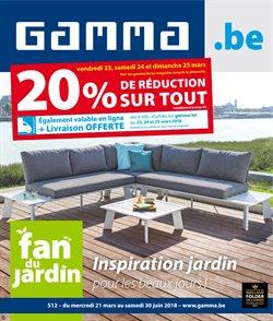 Promos de Bricolage et Jardinage dans le dépliant de GAMMA à Waregem