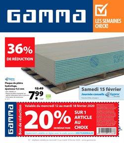 GAMMA coupon ( Expire aujourd'hui )