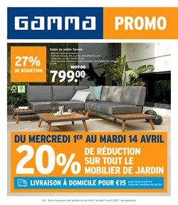 Promos de Bricolage et Jardin dans le prospectus de GAMMA à Hasselt ( Publié il y a 3 jours )