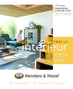 Promos de H&H dans le dépliant à Roulers