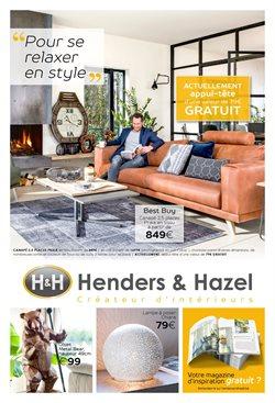 Promos de Meubles et Décoration dans le dépliant de H&H à Mons