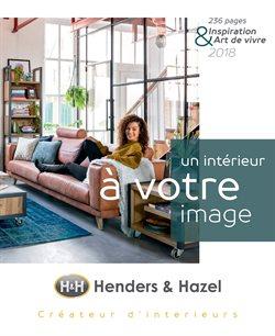 Promos de Meubles et Décoration dans le dépliant de H&H à Bruxelles