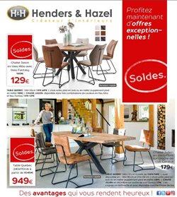 Promos de H&H dans le dépliant à Mons