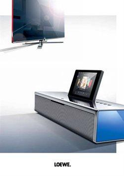 Promos de Loewe TV dans le dépliant à Wetteren