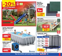 Promos de Bricolage et Jardin dans le prospectus à Hubo ( 5 jours de plus )