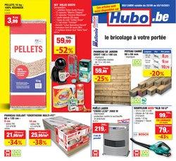 Promos de Bricolage et Jardin dans le dépliant à Hubo ( Publié hier)