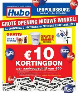 Hubo coupon ( Publié aujourd'hui)