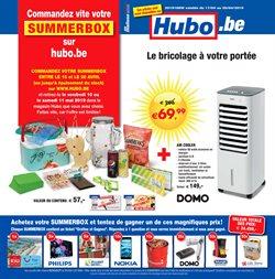 Promos de Bricolage et Jardinage dans le dépliant de Hubo à Bruxelles