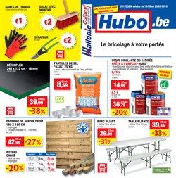 Promos de Bricolage et Jardin dans le dépliant de Hubo à Bruxelles