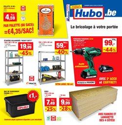 Promos de Bricolage et Jardin dans le prospectus de Hubo à Wavre ( Publié il y a 2 jours )