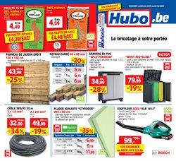 Promos de Bricolage et Jardin dans le prospectus de Hubo à Bruxelles ( 5 jours de plus )
