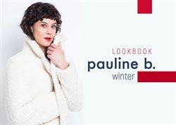 Promos de Pauline B dans le dépliant à Liège