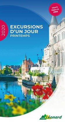 Voyages Leonard coupon à Liège ( Plus d'un mois )