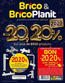 Promos de Brico Plan-it dans le dépliant à Bruxelles
