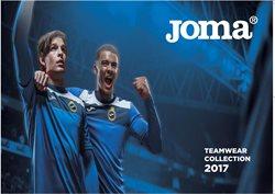 Promos de Sport dans le dépliant de Joma à Waregem