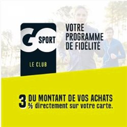Go Sport coupon ( Expiré)