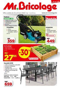 Promos de Bricolage et Jardinage dans le dépliant de Mr Bricolage à Waregem