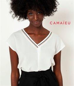 Promos de Camaieu dans le dépliant à Bruxelles