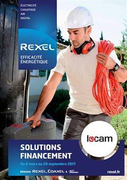 Promos de Rexel dans le dépliant à Bruxelles