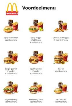 Promos de Restaurants dans le dépliant à McDonald's ( 6 jours de plus)