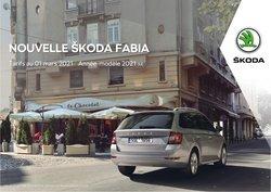 Promos de Skoda dans le dépliant à Skoda ( Plus d'un mois)