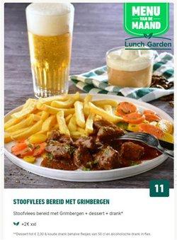 Promos de Restaurants dans le dépliant à Lunch Garden ( 12 jours de plus)