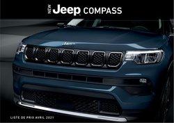 Promos de Voitures et Motos dans le dépliant à Jeep ( Plus d'un mois)
