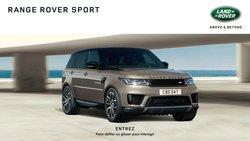 Promos de Voitures et Motos dans le dépliant à Land Rover ( Plus d'un mois)