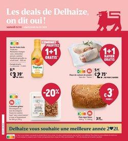 AD Delhaize coupon à Louvain ( Expiré )