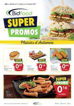 Promos de Restaurants dans le dépliant à Bidfood ( 5 jours de plus)