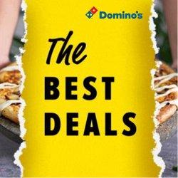Promos de Restaurants dans le dépliant à Domino's pizza ( 9 jours de plus)