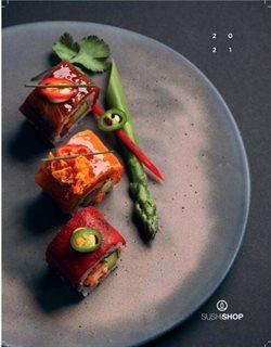 Promos de Restaurants dans le dépliant à Sushi Shop ( Plus d'un mois)