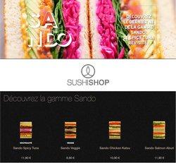 Promos de Restaurants dans le dépliant à Sushi Shop ( 5 jours de plus)