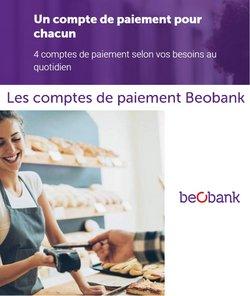 Promos de Banques et Assurances dans le dépliant à Beobank ( 9 jours de plus)