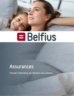 Promos de Banques et Assurances dans le dépliant à Belfius ( 14 jours de plus)