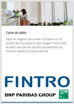 Promos de Banques et Assurances dans le dépliant à Fintro ( 5 jours de plus)