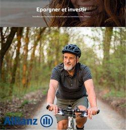Promos de Banques et Assurances dans le dépliant à Allianz ( Plus d'un mois)